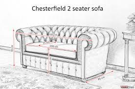 chesterfield sofa dimensions. Contemporary Dimensions Chesterfield 2 Seater Sofa Size With Sofa Dimensions E