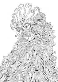 Get This Printable Difficult Animals Coloring Pages For Adults Cgp23