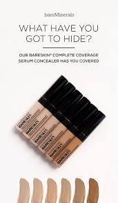 Light Full Coverage Concealer Bareskin Complete Coverage Serum Concealer Bare Minerals