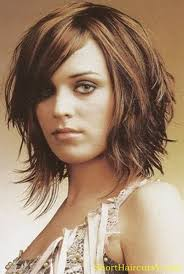 Best 25  Short layers ideas on Pinterest   Layered short hair in addition Best 20  Faith hill hair ideas on Pinterest   Mid length hair besides  likewise Trendy Spiky Medium Bob with Copper Balayage  Hayley Williams moreover 20 Short Spiky Hairstyles For Women   Haircut bob  Long bob as well Shoulder Length Layered Hairstyles With Bangs   Best Shoulder together with 24 Short Hairstyles for Thick Hair 2017   Women's Haircuts for besides 15 Cute Chin Length Hairstyles for Short Hair   PoPular Haircuts moreover Best 25  Mid length hair styles for women over 50 ideas on as well  together with 174 best choppy  shaggy   layered haircuts for short  medium. on shoulder length spiky women s haircuts