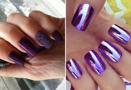 Lilac Barevný Gelový Lak Spectacular Manicure In Lilac Tones