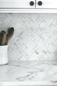with real marble final kitchen makeover reveal love and gray white backsplash tile tiles