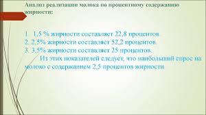 Анализ ассортимента и оценка качества молока в гипермаркете  18