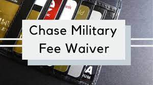 We are committed to serving those who proudly serve us. Chase Fee Waiver For Military Military Benefits