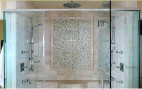 2 shower heads on one valve diverter person two in amazing com decorating ideas bathrooms stunning