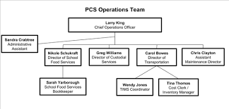 School Organization Charts Organizational Chart Organization Of Central Services