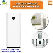 Máy lọc không khí Xiaomi Air Purifier Max công suất 100 m3/h cho phòng trên  120m3 - Bảo Hành 12 Tháng Thế giới điện máy - đại lý xiaomi chính hãng tại  Việt Nam