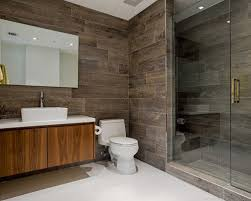 Inspiration for a contemporary alcove shower remodel in Miami with a vessel  sink, flat-