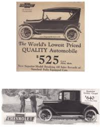 Car Price Quotes Classic Vintage Car models from the Twenties with prices 91