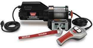 warn industries utility winches 1500ac