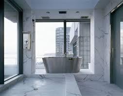 modern bathrooms. Beautiful Modern Modern Bathroom With Marble To Modern Bathrooms T