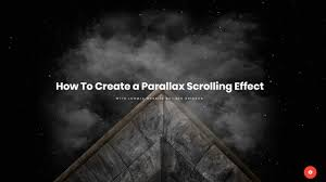 How To Create A Parallax Scrolling Effect With Joomla Website Builder Gridbox