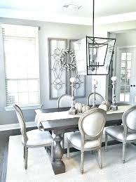 gray rectangular extendable dining room set main table furniture