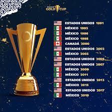 Gold Cup - ¡Estos son todos nuestros ...
