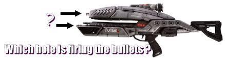 Mass effect weapons suck