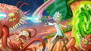 Rick and Morty Killing Monsters ...