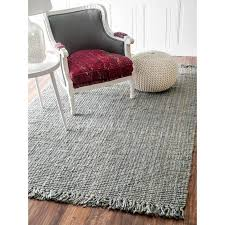 interior architecture picturesque grey jute rug of chunky wool and gray ivory pottery barn grey