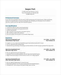How To Make A Coaching Resume Coaching Resumes Under Fontanacountryinn Com
