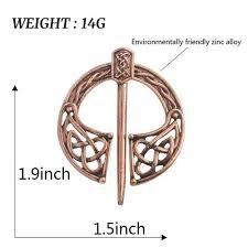 Hatteberg Brož Vikingské Bronzové Duté Spony Spiral Broch At Vova