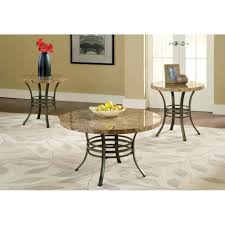 steve silver collison round faux marble coffee table set hayneedle uk masterssc large size