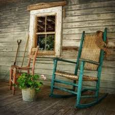 rocking chairs the best prescription out there front porch