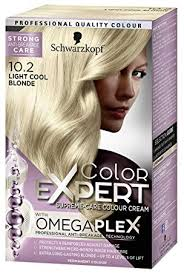 Schwarzkopf Color Expert Permanent Hair Dye 10 2 Light Cool Blonde 1 Application