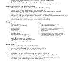 Music Resume Template Musical Resume Template Tomyumtumweb 40