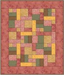 yellow brick road quilt pattern free - Google Search | Quilts ... & @Lisa V This is the yellow brick road pattern, and you can see the Adamdwight.com
