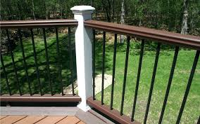 5 great deck railing options home check plus deck railing options deck railing options