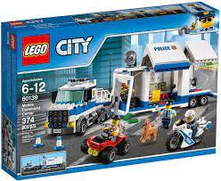 Mua đồ chơi LEGO City 60139 - Xe Tải Cảnh Sát (LEGO 60139 Mobile Command  Center)