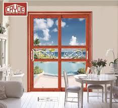china latest front door designs security stainless frame double glass exterior aluminium sliding door china bathroom door interior door