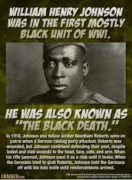 William Henry Johnson a WW1 Veteran | Black history facts, History, History  facts