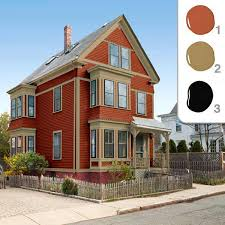 how to choose exterior paint colorsPicking the Perfect Exterior Paint Colors  Red color schemes