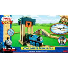 toys r us thomas the train wooden friends railway coal hopper figure 8 set toy