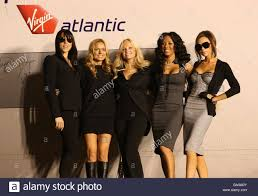 Virgin atlantic spice girls