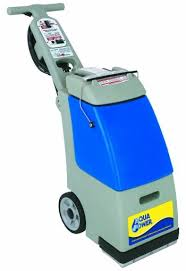 carpet extractor. carpet extractor: aqua power c4 quick dry extractor left view