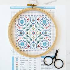 How To Cross Stitch With A Pattern