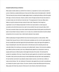 example of synthesis essay free 6 synthesis essay examples samples in pdf doc