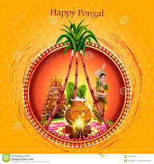 Happy Pongal Festival Of Tamil Nadu ...