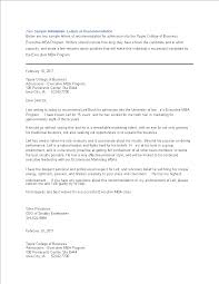 Writing A College Recommendation Letter For College Admissions College Admission Recommendation Letter Templates At