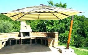 large rectangular cantilever patio umbrellas free standing umbrella outdoors incredible home