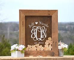 barnyard wooden heart drop guest book guest book drop box guest book sign