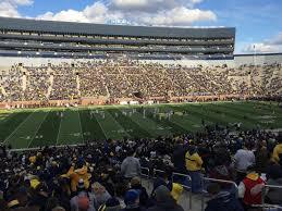 Michigan Stadium Club Level Seating Chart Michigan Stadium Section 25 Rateyourseats Com