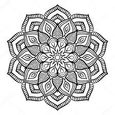 25 Printen Kleurplaten Bloemen En Hartjes Mandala Kleurplaat Voor