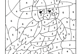 Number Coloring Pages Pdf 1 20 Sheets 10 Numbers As Unique Page
