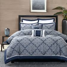 navy blue and white comforter sets amazing best ideas on regarding gray blue and white comforter