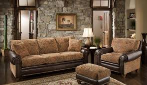 colorful living room furniture sets. Stunning Rustic Living Room Furniture Design With Fancy Brown Sofa Ideas Colorful Sets