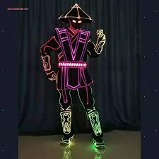 Tron Light Up Clothing Led Costumes Led Dancers Led Tron Costume