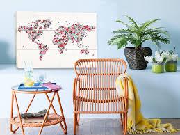 Wereldkaarten Trend Voor Aan De Wand Urstyle