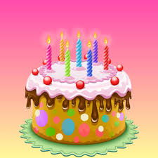 3d Happy Birthday Cake Sticker By Salma Akter